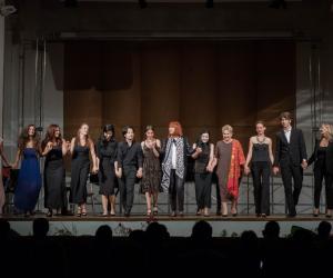 Open Gold 2019 - Allievi Masterclass di canto del M° L. Niculescu