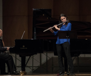 Open Gold 2019 - Allievi masterclass di flauto del M° P. Taballione