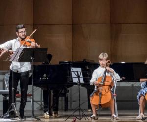 Open Gold 2019 - Allievi masterclass di viola e musica da camera